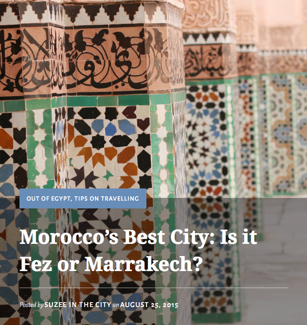 Morocco's Best City